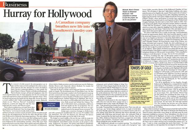 Article Preview: Hurray for Hollywood, June 1998 | Maclean's