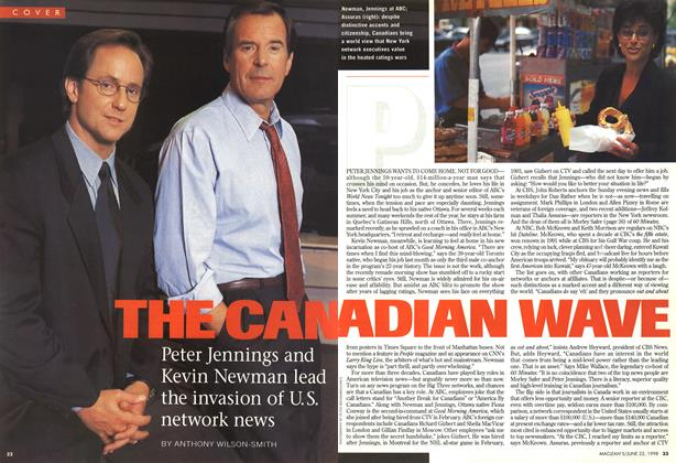 Article Preview: THE CANADIAN WAVE, June 1998 | Maclean's