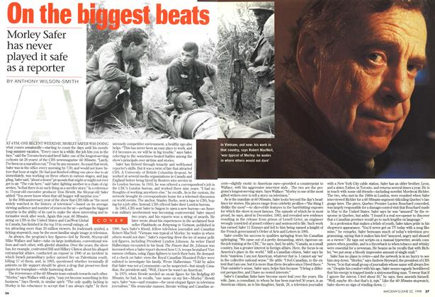 Article Preview: On the biggest beats, June 1998 | Maclean's