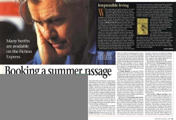 Article Preview: Booking a summer passage, June 1998 | Maclean's