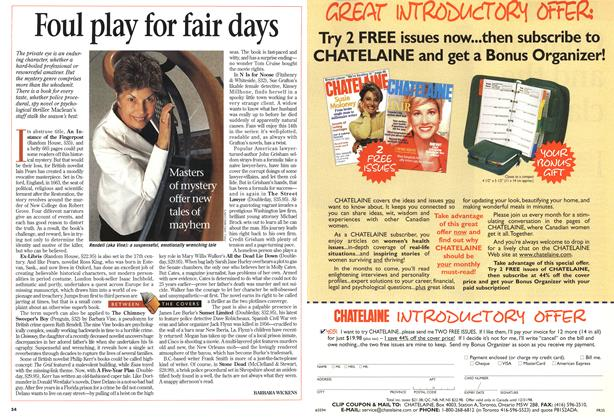 Article Preview: Foul play for fair days, June 1998 | Maclean's