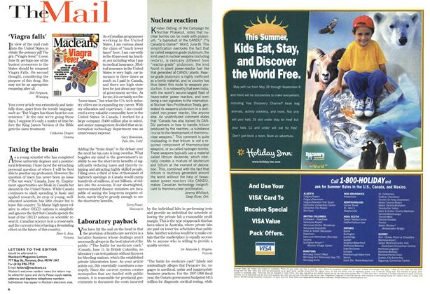 Article Preview: The Mail, June 1998 | Maclean's