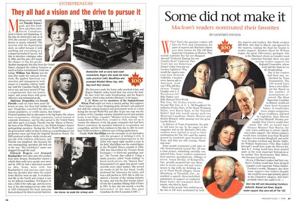 Article Preview: Some did not make it, July 1998 | Maclean's