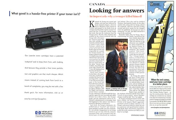 Article Preview: Looking for answers, July 1998 | Maclean's