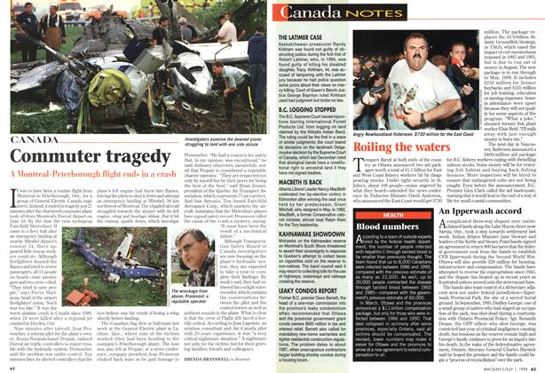 Article Preview: Commuter tragedy, July 1998 | Maclean's