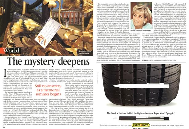 Article Preview: The mystery deepens, July 1998 | Maclean's