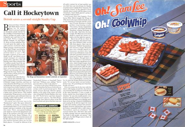 Article Preview: Call it Hockeytown, July 1998   Maclean's