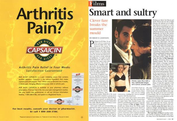 Article Preview: Smart and sultry, July 1998 | Maclean's