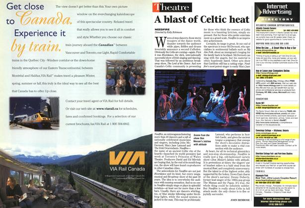 Article Preview: A blast of Celtic heat, July 1998 | Maclean's