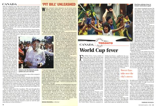 Article Preview: World Cup fever, July 1998 | Maclean's