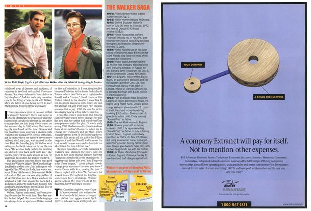 Article Preview: THE WALKER SAGA, July 1998   Maclean's