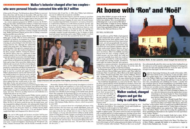 Article Preview: At home with 'Ron' and 'Noël', July 1998   Maclean's