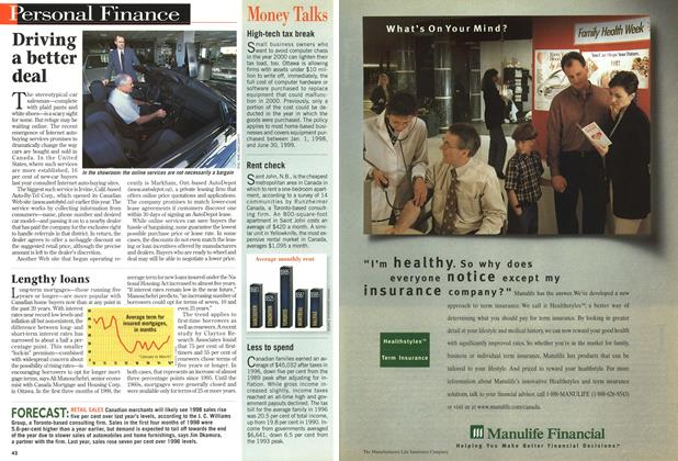 Article Preview: Advertisement, July 1998 | Maclean's
