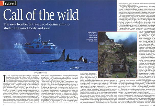 Article Preview: Call of the wild, July 1998 | Maclean's