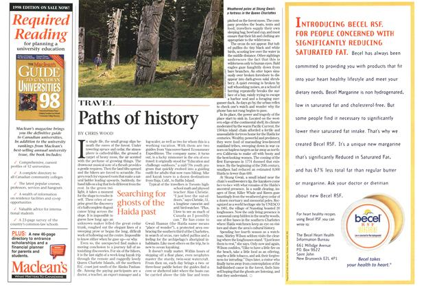 Article Preview: Paths of history, July 1998 | Maclean's