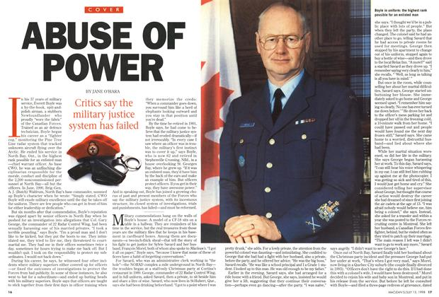 Article Preview: ABUSE OF POWER, July 1998 | Maclean's