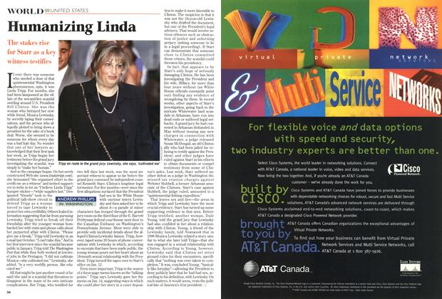 Article Preview: Humanizing Linda, July 1998 | Maclean's