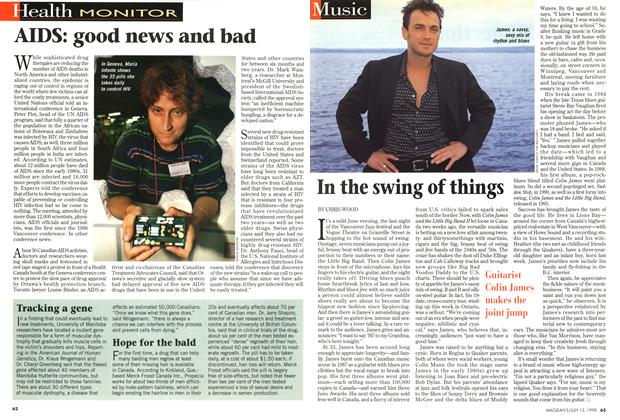 Article Preview: In the swing of things, July 1998 | Maclean's