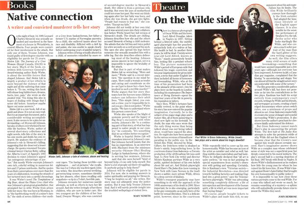 Article Preview: On the Wilde side, July 1998 | Maclean's