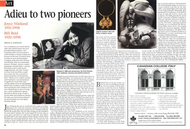Article Preview: Adieu to two pioneers, July 1998 | Maclean's