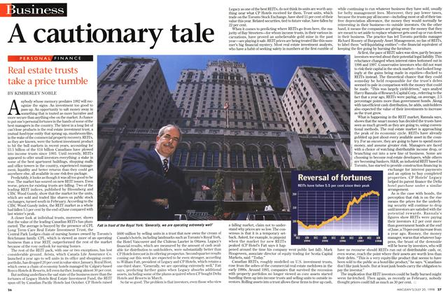 Article Preview: A cautionary tale, July 1998 | Maclean's