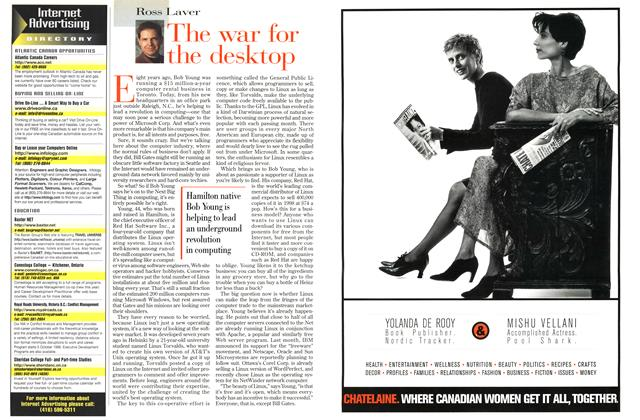 Article Preview: The war for the desktop, July 1998   Maclean's