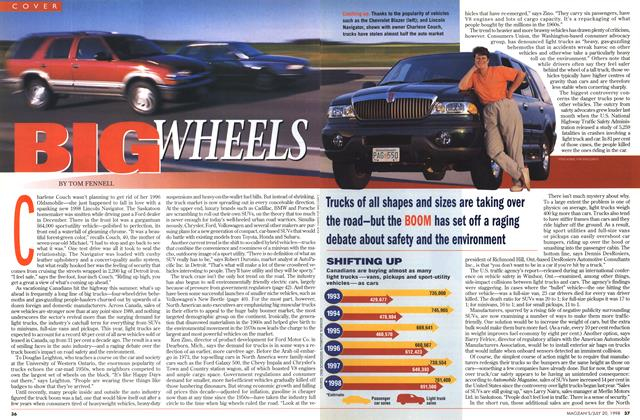 Article Preview: BIG WHEELS, July 1998 | Maclean's