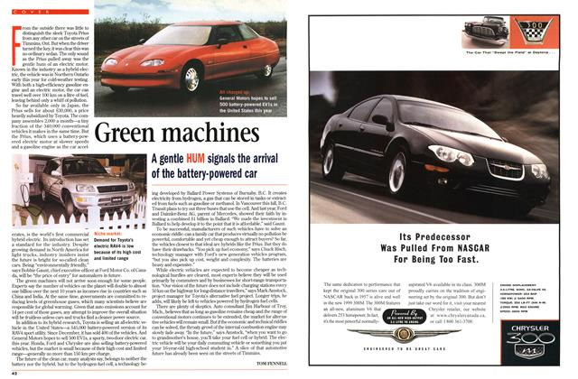 Article Preview: Green machines, July 1998 | Maclean's