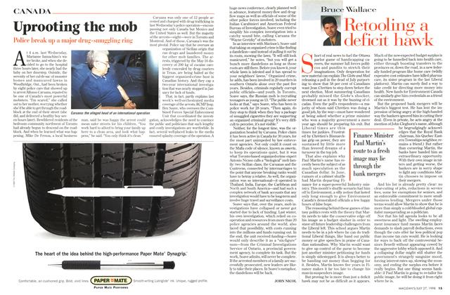 Article Preview: Uprooting the mob, July 1998 | Maclean's
