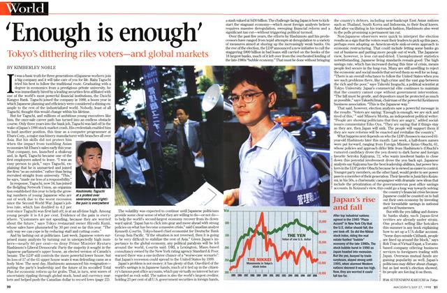 Article Preview: 'Enough is enough', July 1998 | Maclean's