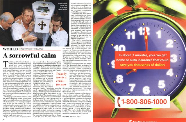 Article Preview: A sorrowful calm, July 1998 | Maclean's
