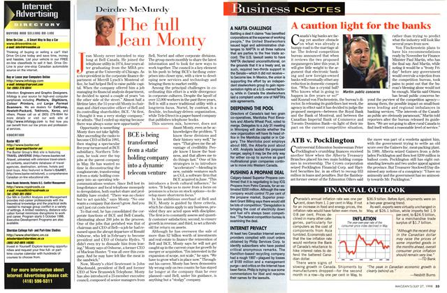 Article Preview: The full Jean Monty, July 1998 | Maclean's