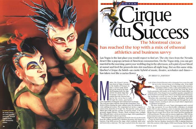 Article Preview: Cirque du Success, July 1998 | Maclean's