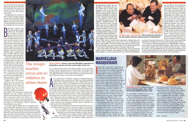 Article Preview: MARVELLOUS MASQUERADE, July 1998 | Maclean's