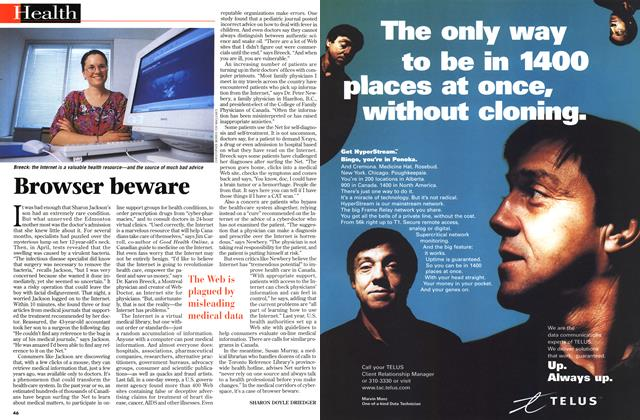 Article Preview: Browser beware, July 1998 | Maclean's