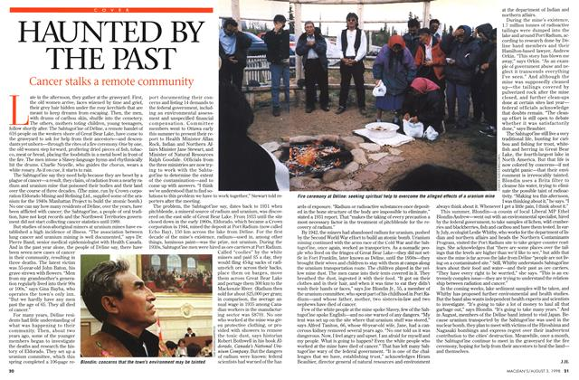 Article Preview: HAUNTED BY THE PAST, August 1998 | Maclean's