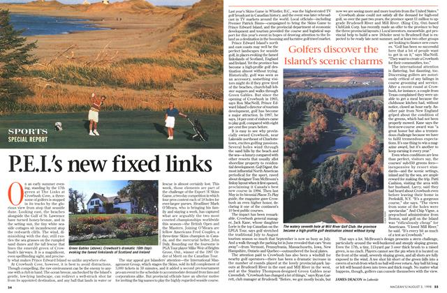 Article Preview: P.E.I.'s new fixed links, August 1998 | Maclean's