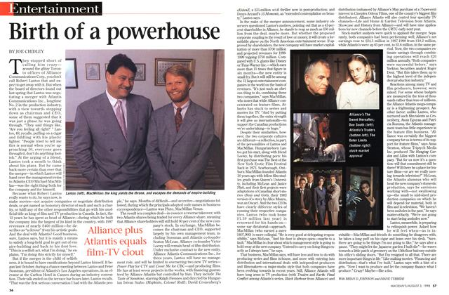 Article Preview: Birth of a powerhouse, August 1998 | Maclean's
