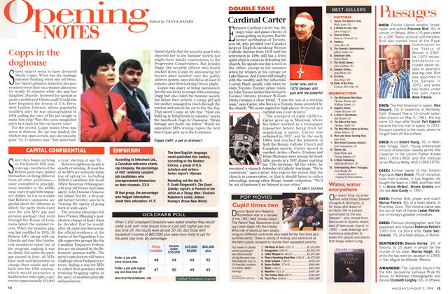Article Preview: Passages, August 1998 | Maclean's