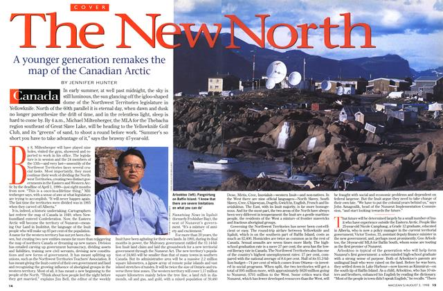 Article Preview: The New North, August 1998 | Maclean's