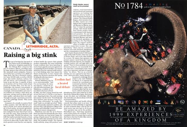 Article Preview: Raising a big stink, August 1998 | Maclean's