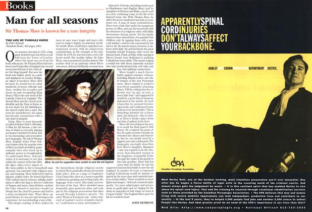 Article Preview: Man for all seasons, August 1998 | Maclean's