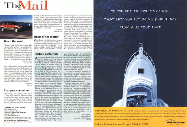 Article Preview: The Mail, August 1998 | Maclean's