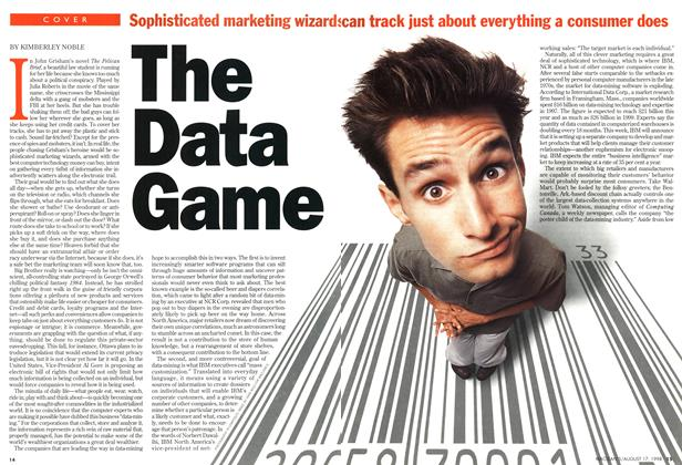 Article Preview: The Data Game, August 1998 | Maclean's