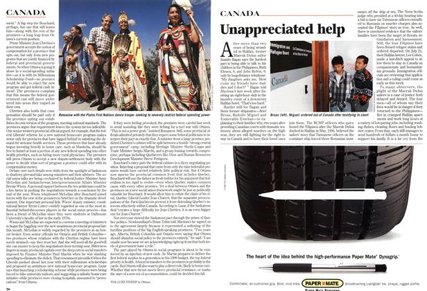 Article Preview: Unappreciated help, August 1998 | Maclean's