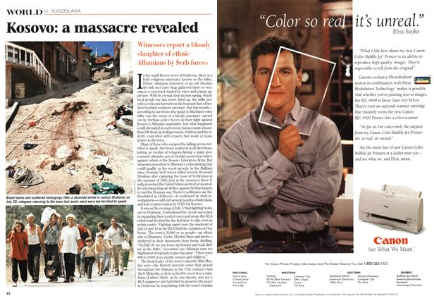 Article Preview: Kosovo: a massacre revealed, August 1998 | Maclean's