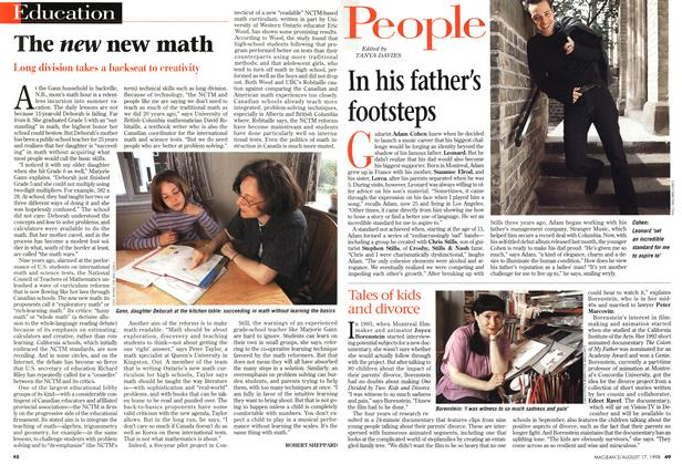 Article Preview: The new new math, August 1998 | Maclean's