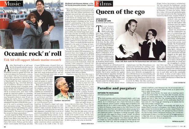 Article Preview: Queen of the ego, August 1998 | Maclean's