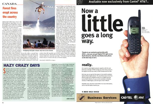 Article Preview: HAZY CRAZY DAYS, August 1998 | Maclean's