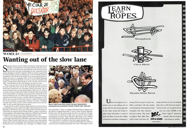 Article Preview: Wanting out of the slow lane, August 1998 | Maclean's